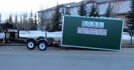 We offer storage at your place or we can drop off a unit, you fill it and then we take it back to our yard.